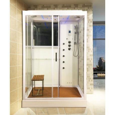 Cabine de douche hammam : une cabine de douche style hammam ...